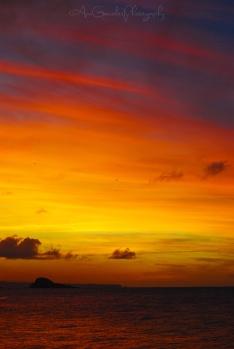 Cielo colorido