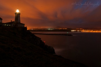 Nocturna Faro de San Juan